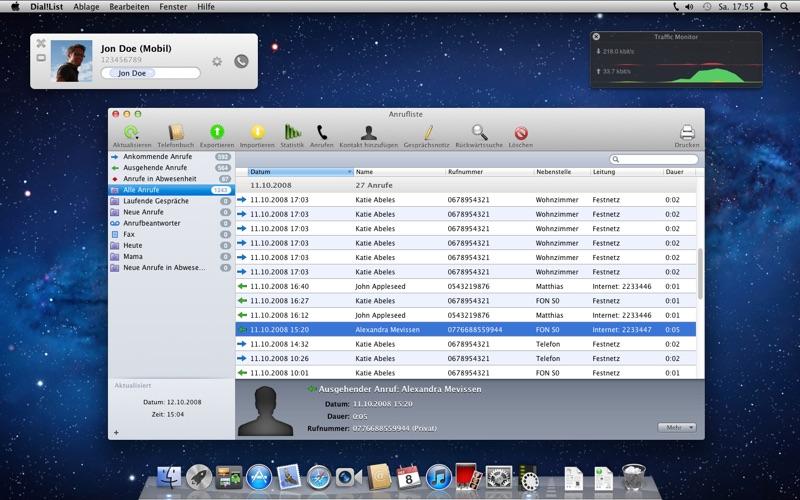 Dial!List Screenshots