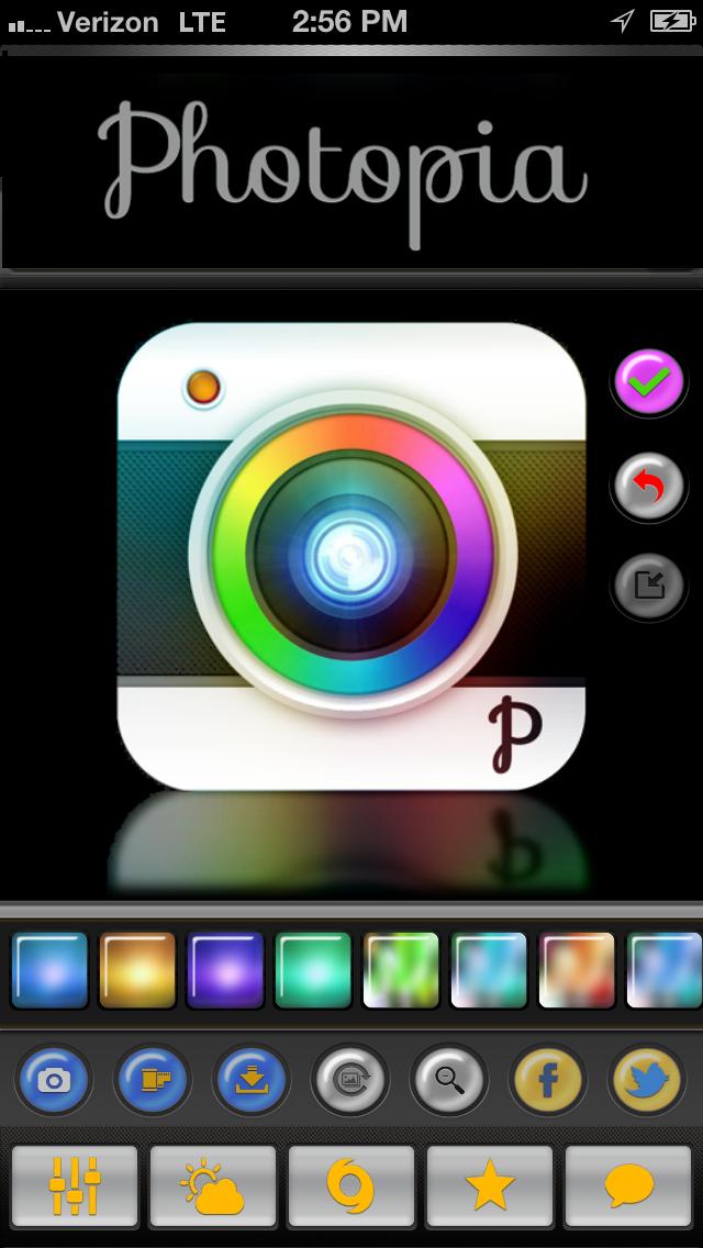 Photopia - Free Camera and Photo Editing Tools