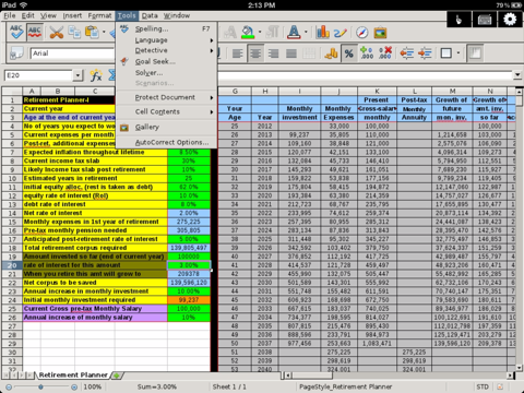 SpreadSheet - Editor of Microsoft Excel XLS files for iPad | App Price Drops