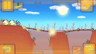 Fat Birds Build a Bridge - FREE screenshot one