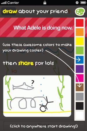 Scribblr Draw Fun And Random Things About Your Friends On The App