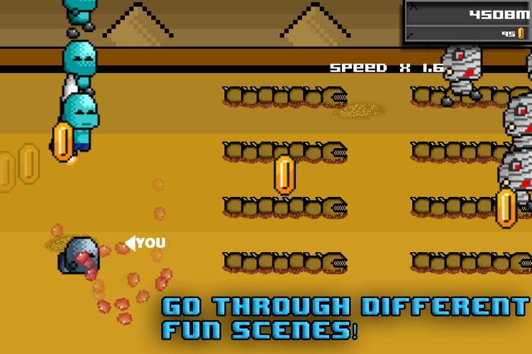 Zombie Hurdles Lite screenshot-1