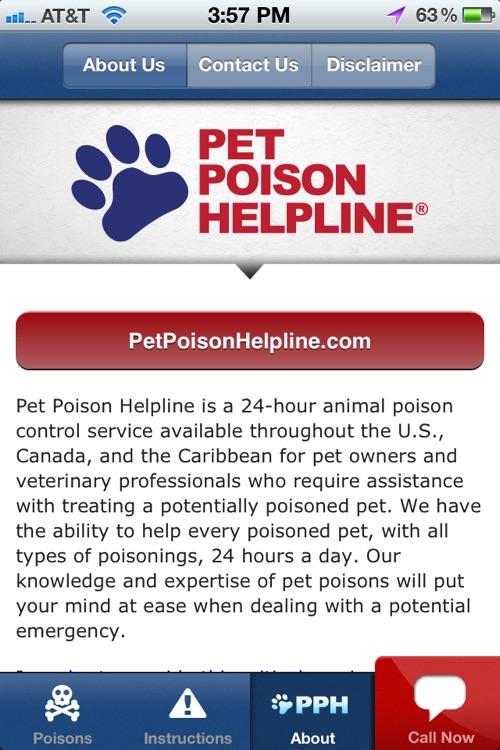 Pet Poison Help screenshot-4