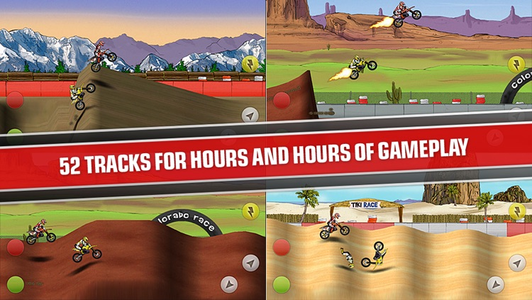 Mad Skills Motocross screenshot-2