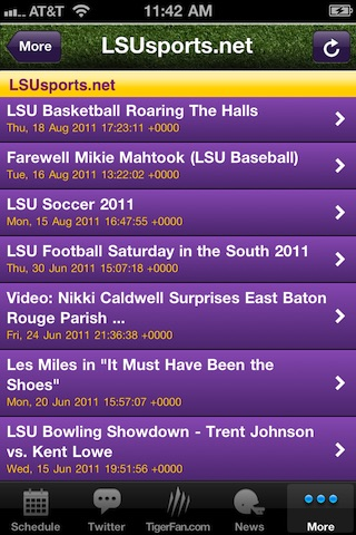 GeauxTigers!  LSU Football! screenshot-2