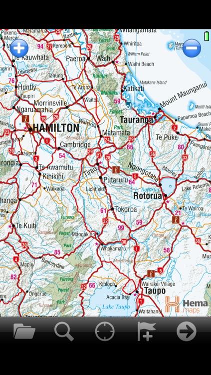 NZ RoadAtlas | New Zealand Road Atlas with Offline GPS Navigation screenshot-3