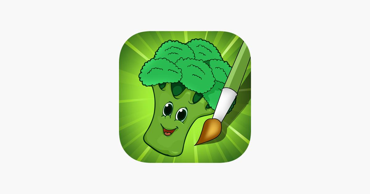 Aktif Buku Mewarnai Buah Buahan Dan Sayuran Untuk Balita Dan Anak