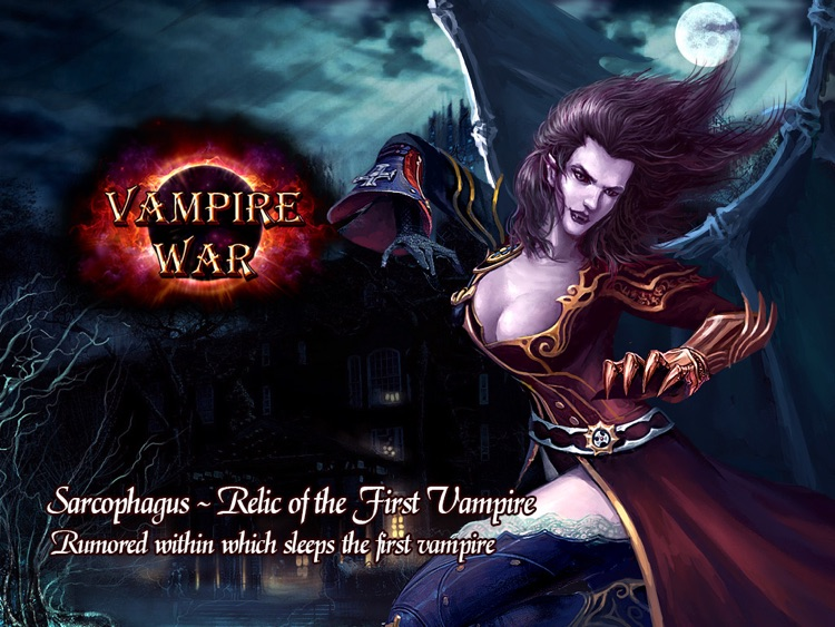 Vampire War - HD screenshot-3