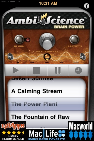 Brain Power   AmbiScience™ • Binaural & Isochronic Ambient Mind Utility