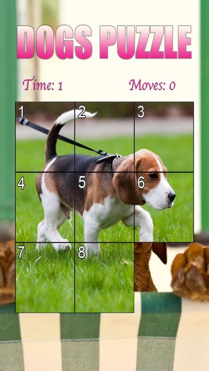 Dogs Puzzle HD screenshot-3