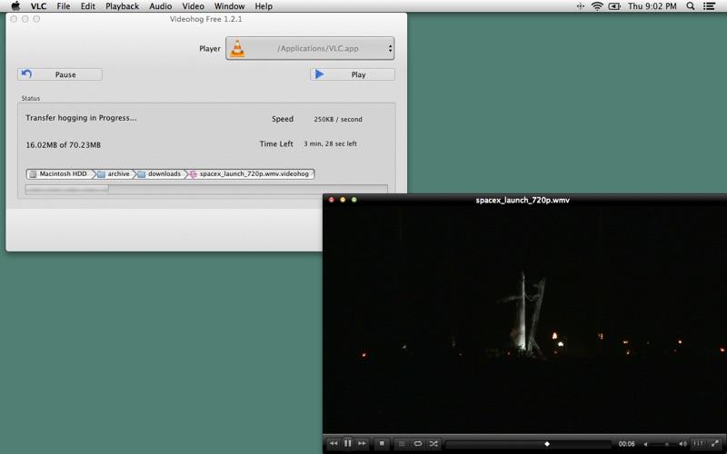 Videohog Free Screenshot