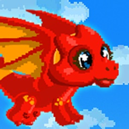 Adventure of Flying Dragon - A Fun Flappy Quest FREE