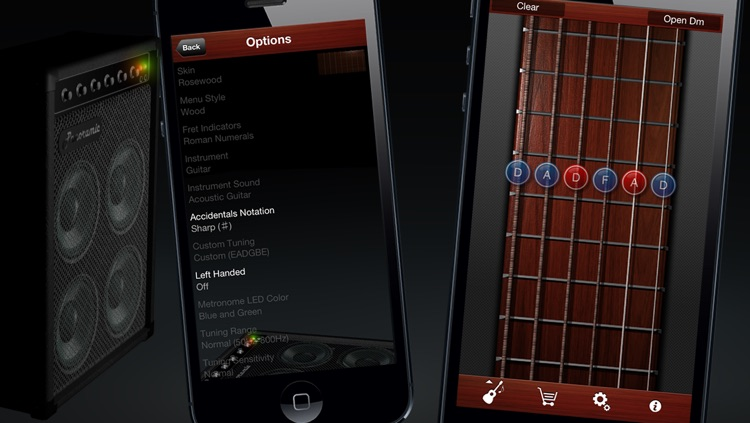 Guitar Suite Free - Metronome, Tuner, and Chords Library for Guitar, Bass, Ukulele screenshot-4