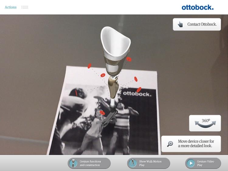 Genium™ Ottobock Augmented Reality