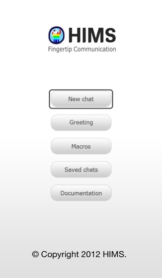 HIMS Chat iPhone