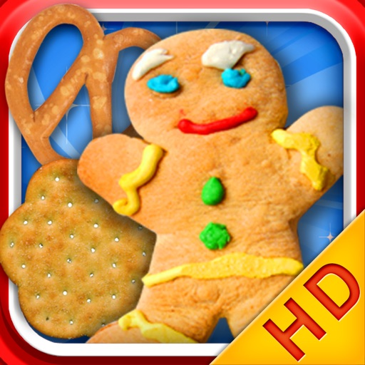 Make Cookies HD - Cooking games