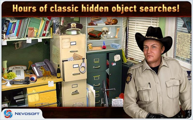 Mysteryville Lite: hidden object investigation screenshot 3