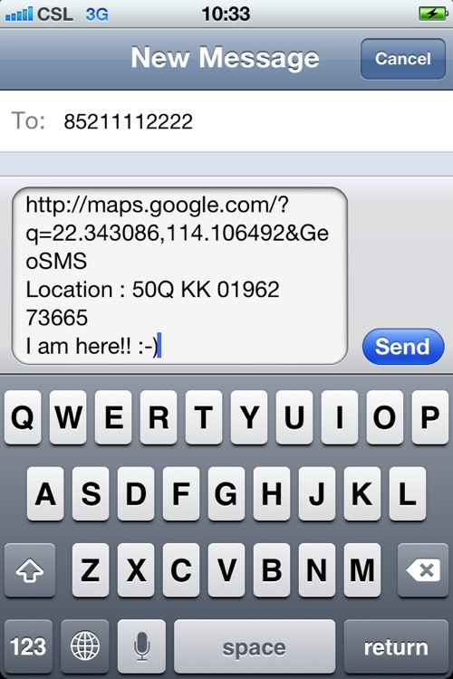 The MGRS UTM Convertor for iPhone screenshot-4