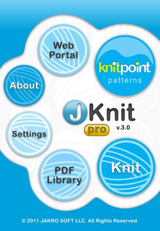 JKnit Pro - Knitting Project Master