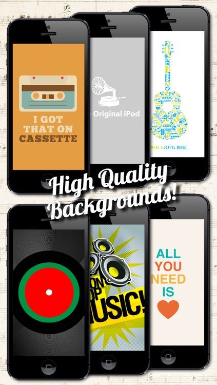 Music Backgrounds, Wallpapers and Themes for Musicians and Artists screenshot-3