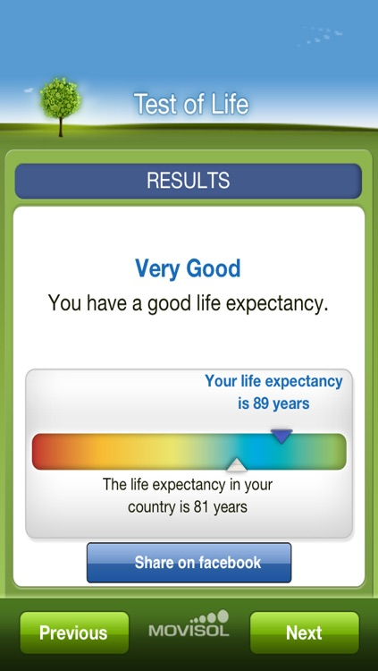 Test of Life: expectancy to live calculator in habits and genetics screenshot-3