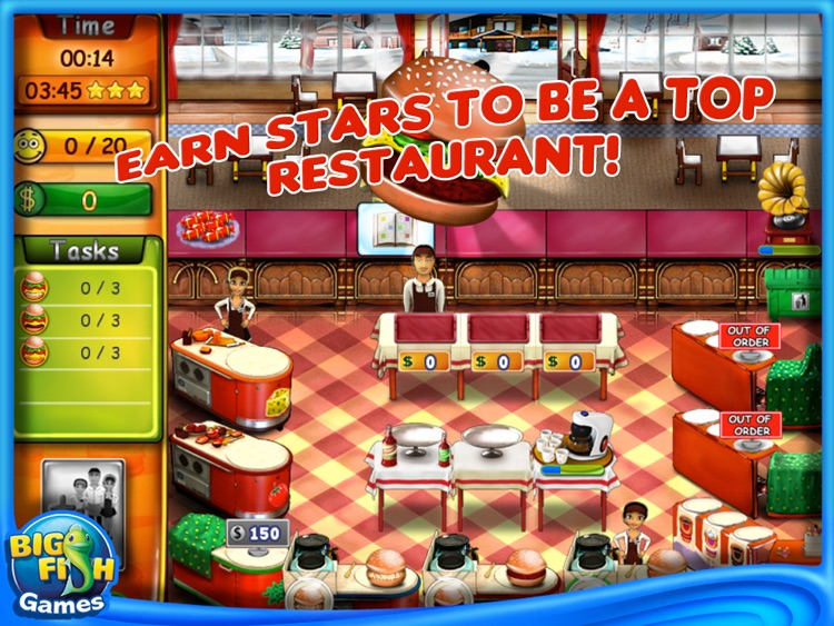 Burger Bustle HD screenshot-4