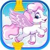 Flying Pony Adventure - Ancient Pegasus Sky Flapper Rush