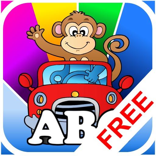 Abby - Animal Preschool Shape Puzzle Free - First Word (Farm Animals, ZOO...)