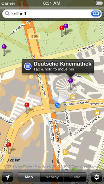 Smart Maps - Berlin screenshot-1