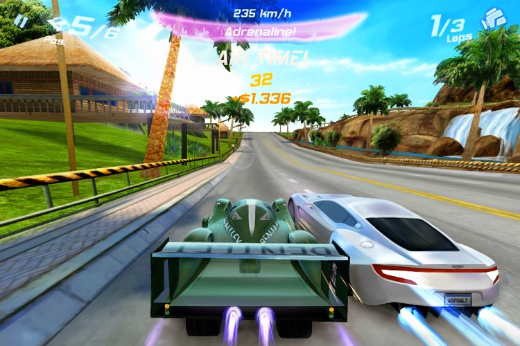 Asphalt 6: Adrenaline screenshot-1