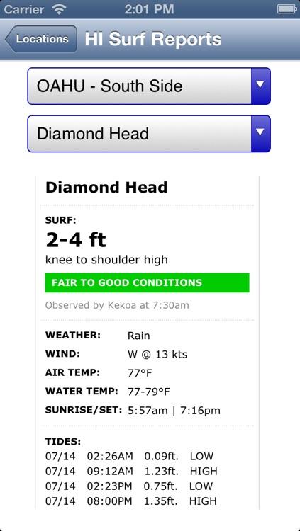 Hawaii Surf Reports screenshot-3