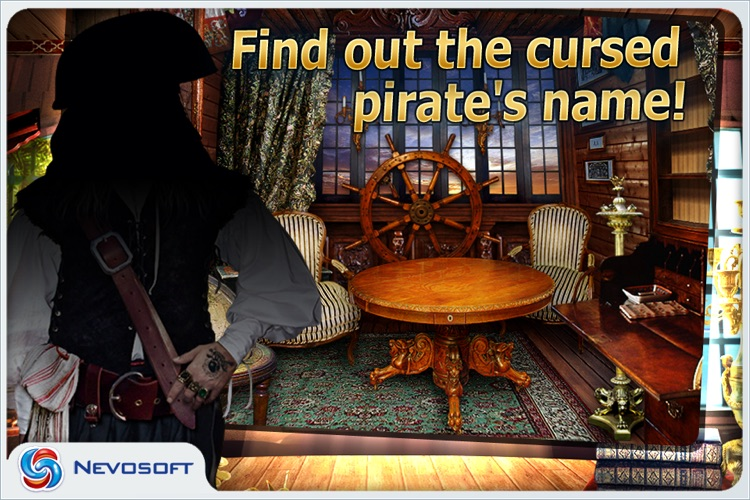 Pirate Adventures lite: hidden object game screenshot-3