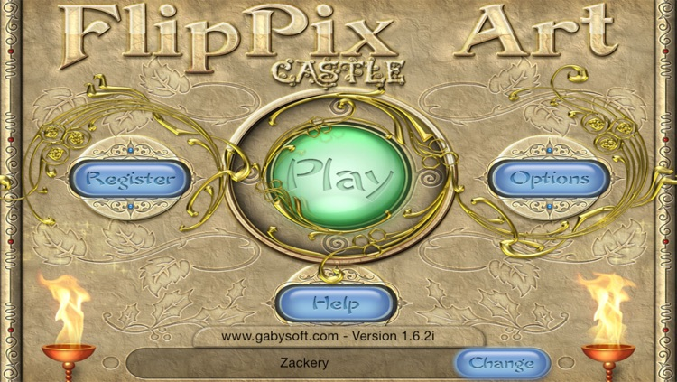 FlipPix Art - Castle