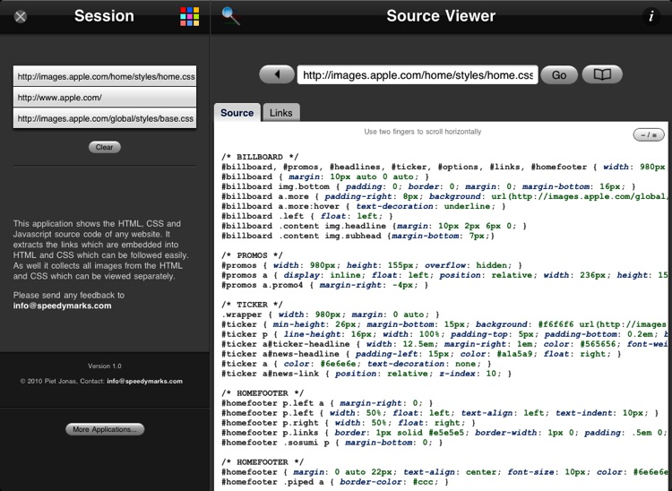 Source Viewer XL