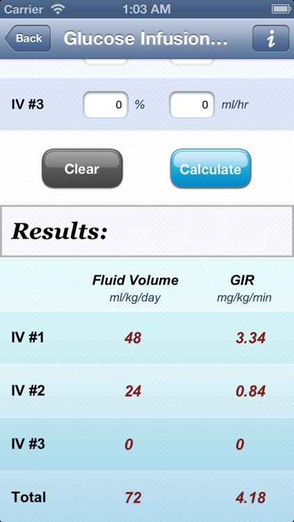 NICU Calculator screenshot-4