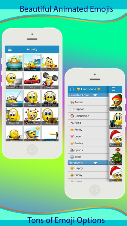 Emoji 3D Animated & Emoticons Icons screenshot-0