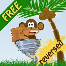Action Monkey: Basket Challenge Reversed