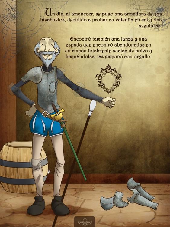The Adventures of Don Quixote de la Mancha Interactive
