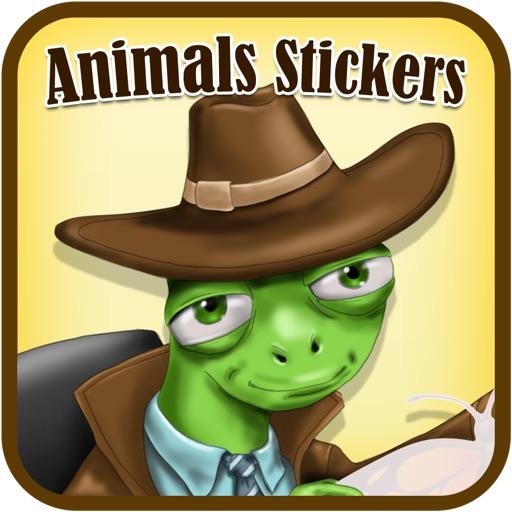 Animals Card Designer -  Create cards using animals stickers iOS App