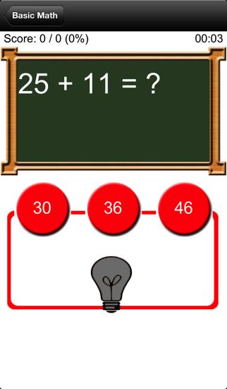Basic Math screenshot three