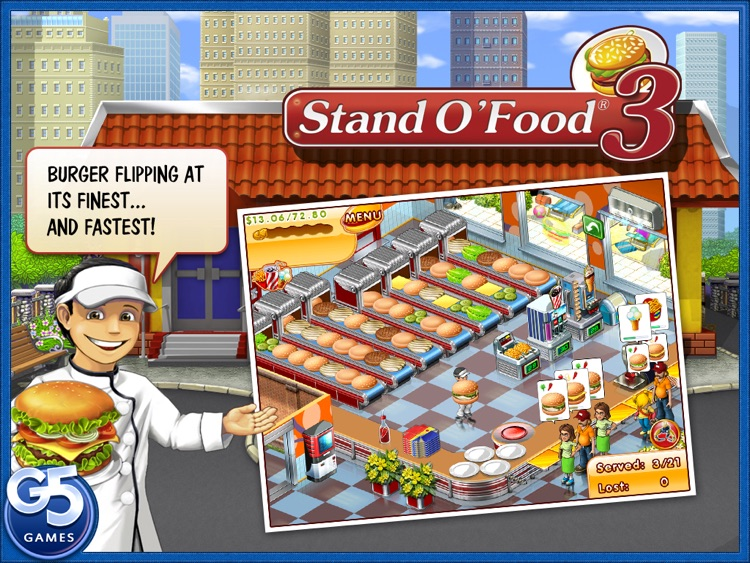 Stand O'Food® 3 HD (Full) screenshot-0