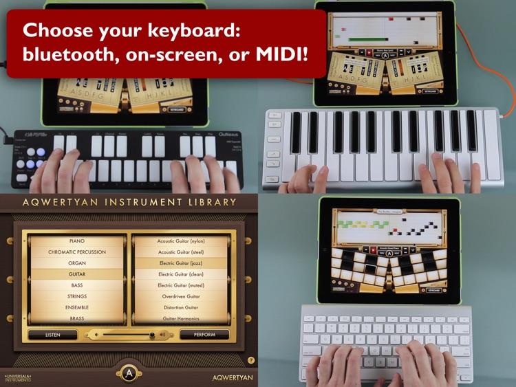 Aqwertyan - Music at your Fingertips! screenshot-4