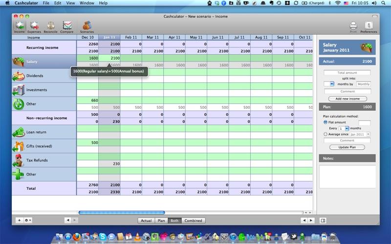 Cashculator - Personal Finance Screenshots