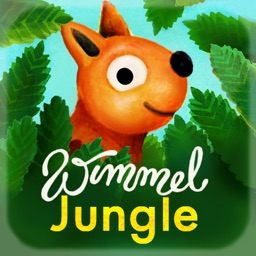 Wimmel App 3 Jungle – High quality handcrafted seek and find book for kids