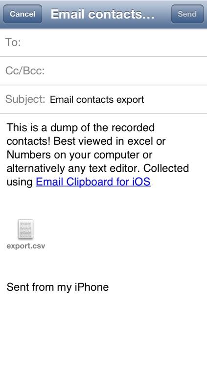 Email Clipboard screenshot-3