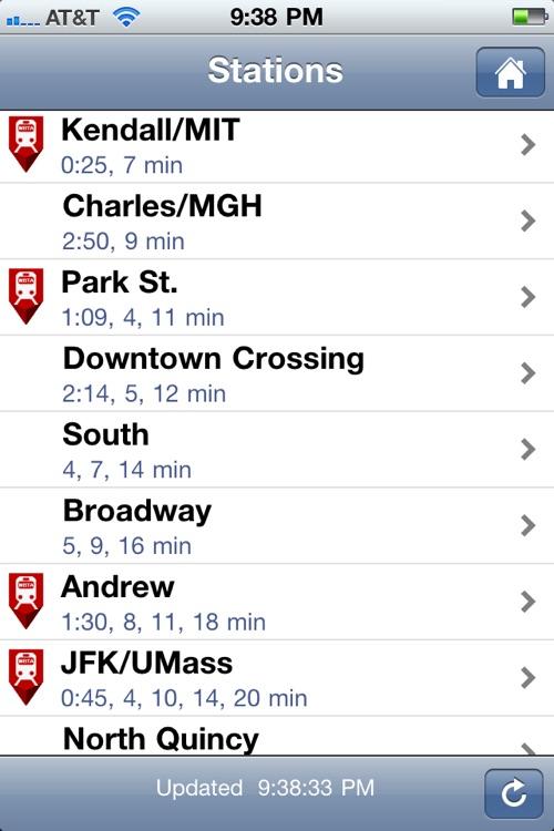 Where's my MBTA T?