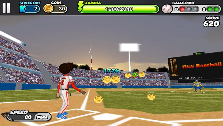 Flick baseball screenshot-3
