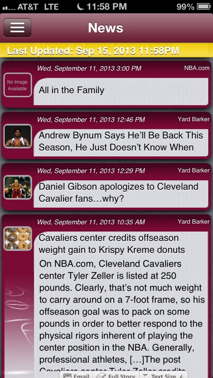 Basketball Live - Cleveland Edition screenshot-1