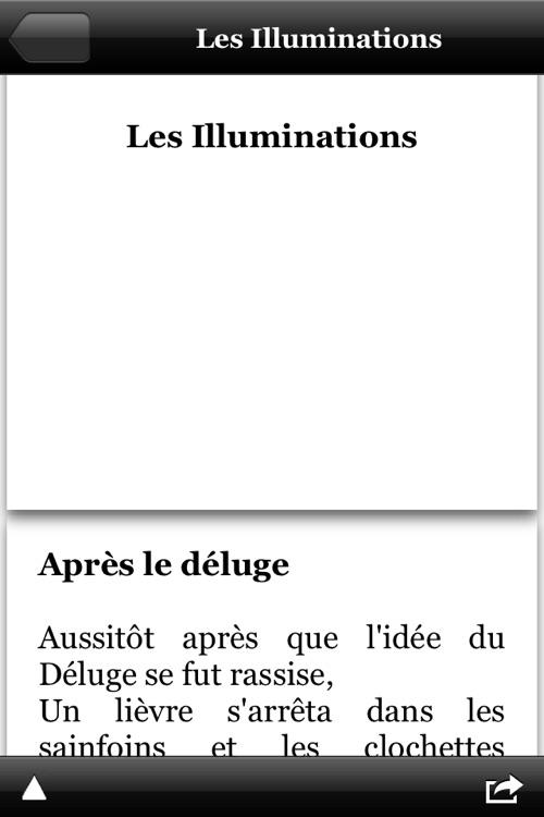 Rimbaud - Oeuvres complètes screenshot-3