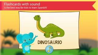 西班牙的孩子與本尼。顏色和數字,問候和家庭,食物,水果,動物和記憶單詞免費的讀音:通過識字學習西班牙語屏幕截圖1
